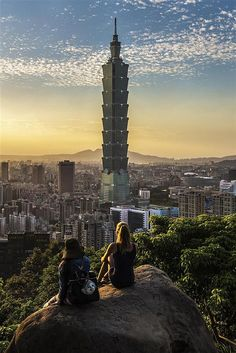 Taipei, Taiwan (hike to the top of elephant mountain)