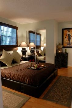 decor, bedroom, color, makeover, contemporary