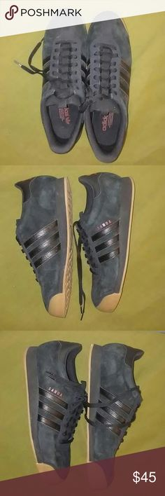Adidas Samoa Black Size 13 Adidas Samoa Size 13 Black/Gum Used Condition Very good condition Worn twice adidas Shoes Sneakers