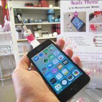 Nails Phone : un kit manucure branché sur votre Smartphone !
