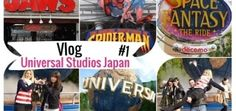 Universal Studios Japan [1] : Space fantasy, Spider-man, Jaws