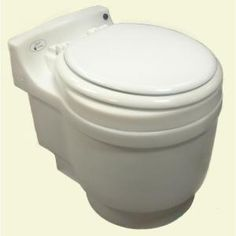 Laveo, Dry Flush Chemical Free Odorless Portable Lightweight Electric Waterless Toilet, DF1045 at The Home Depot - Mobile