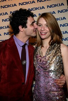Backstage ZAC POSEN and Claire Danes ■■■ FALL ■■■ 2004 ■■■ RTW ■■■ NEW YORK