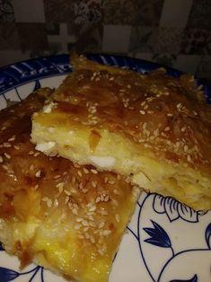 Τυρόπιτα της τεμπέλας με φέτα, Regato ή γραβιέρα με αυγά και σόδα Recipies, Desserts, Food, Recipes, Postres, Deserts, Hoods, Meals, Dessert