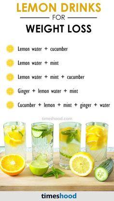 Benefits of lemon water. Lemon detox water for weight loss. Lemon detox drinks for weight loss.