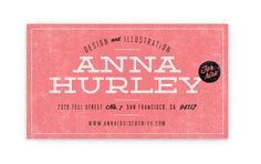 Anna Hurley Design and Illustration