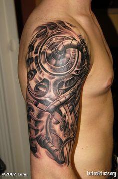 biomechanical tattoo decal - Recherche Google