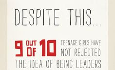 Leadership (cont.) [click on this image to find Jennifer Siebel Newsom's new documentary, Miss Representation, which explores the very problematic ways women and girls are represented in contemporary media] (slide 8 of 9; source and full infographic: http://www.missrepresentation.org/leadership/cause-and-effect-why-we-need-to-tell-herstory/)