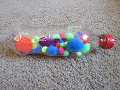 Always Wright: Homemade Baby Toys. I made some sensory bottles for my daughter and they are her favorite toys!