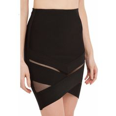 Mason high waisted mini skirt ($43) ❤ liked on Polyvore featuring skirts, mini skirts, asymmetrical mini skirt, mini pencil skirt, patterned pencil skirt, print mini skirt and pencil skirt