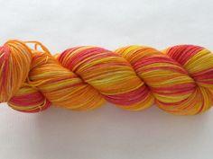 Hand Dyed Sock Yarn  Proper Sock Beach Wear by gnarledpaw on Etsy, $16.00