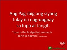 24 Best Filipino Love Quotes Images Caption Quotes English To