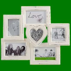 Retro fotorámček Love (6 fotiek)