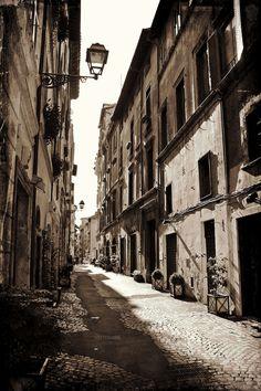 Roma - Via dei Coronari, by Luca Parravano