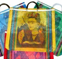 Frida Kahlo mercado bag