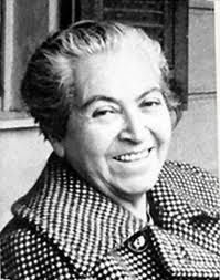 Gabriela Mistral, premio Nobel de Literatura 1945