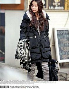 Zicac Damen Hoodies Warm Winter Mantel Outdoor Casual Jacke Duck Down Winter Lang Outdoor Outwear Jacken-Mantel: Amazon.de: Bekleidung