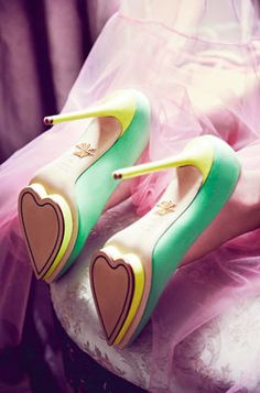 Charlotte Olympia just nails it everytime... Isn't this the perfect Valentine's Day present