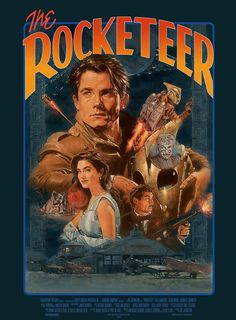 Disney Films, Disney Art, Rocketeer Movie, Dave Stevens, Best Movie Posters, Military Girl, Alternative Movie Posters, Fantasy Movies, Animation Series