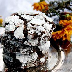 Wrinkly Crinkly Chocolate Cookie