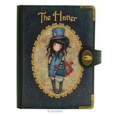 Chronicles könyv kézitáska - Gorjuss - The Hatter