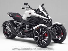 Concept Neowing : Le 3-roues Honda (NC750 ?) n'est pas pour maintenant…