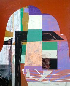 "Saatchi Art Artist: Jim Harris; Acrylic 2014 Painting ""Uppbygging."""