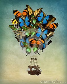 Butterfly Hot Air Balloon - Download From Over 27 Million High Quality Stock Photos, Images, Vectors. Sign up for FREE today. Image: 41918862