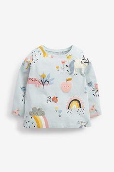 Organic Long Sleeve Shirt Jersey Poppy Fairy