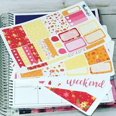 Fall Air – C and L Crafts   Autumn Planner Kit