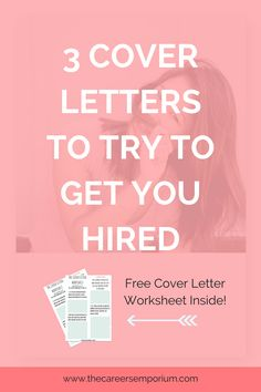 cover letter that get you hired
