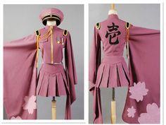 >> Click to Buy << Senbonzakura Vocaloid Cosplay Costumes Hatsune Miku Full Set Cosplay Uniforms Free Shipping (Top + Skirt + Cap + Socks + Gloves) #Affiliate