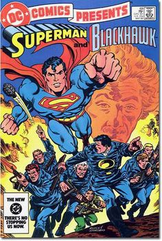 Blackhawk & Superman