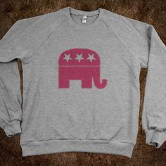 Pink Republican Sweatshirt