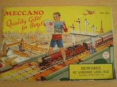 RARE DINKY,MECCANO,HORNBY TOY CATALOGUE 1939-40 UK EDITION EXCELLENT CONDITION | eBay