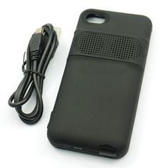 $29 for a Battery Charging Speaker Case for iPhone 4/4s ($80 value)