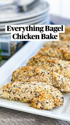 Recipes For Chicken Tenders, Easy Chicken Seasoning, Meals With Chicken Breast, Easy Chicken Tender Recipes, Easy Chicken Dishes, Chicken Tenderloin Recipes Healthy, Healthy Recipes With Chicken, Quick And Easy Recipes, Easy Italian Recipes