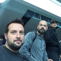 Ghost Adventures: Billy, Aaron and Zak.
