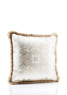 Baroque Ton-Sur-Ton #Cushion #Versace #VersaceHome