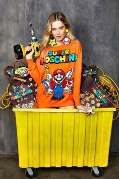 A coleção Moschino inspirada no Super Mario