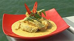Barramundi Moolie ~ Jimmy Shu ( My favourite dish from Hanuman, Jimmy's Darwin restaurant.)