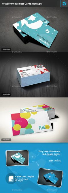 84x55mm Business Cards Mockups — Photoshop PSD #photo like #blank • Available here → https://graphicriver.net/item/84x55mm-business-cards-mockups/9818022?ref=pxcr
