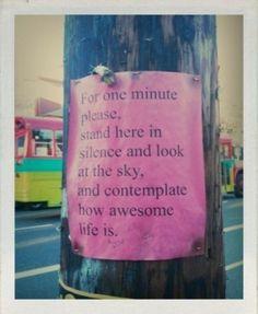 Breathe it all in...