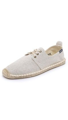 Soludos Woven Derby Lace-Up Sneakers