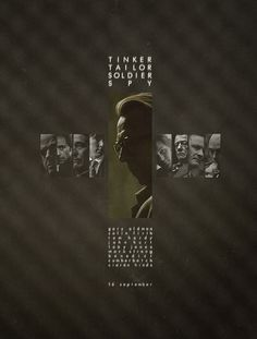Best cast ever ttss Tinker Tailor Soldier Spy, Poster Fonts, Moving Pictures, Print Magazine, Star Wars Episodes, Graphic Design Posters, Film Posters, Business Card Design, I Movie