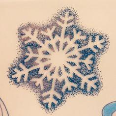 Dotwork snowflake