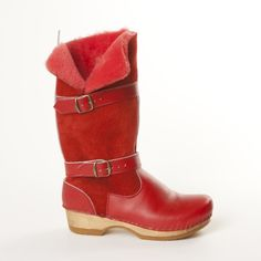 Brittany Shearling Clog Boot