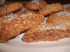 El te de Alicia: Masitas inspiradas en el turron de quaker/ Muy Facil. Easy oatmeal and chocolate cookies