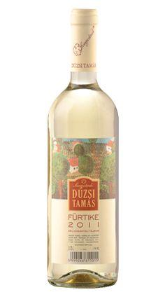 Dúzsi Fürtike 2011 Szekszárd - a késő nyár bora, gyümölcsös, kiegyensúlyozott savakkal Wines, Bottle, Flask