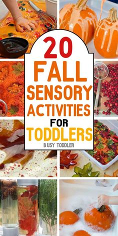 AWESOME FALL ACTIVITIES: Your toddler will love all of these simple activities! Celebrate fall with art/craft activities, sensory based learning and other simple activities for toddlers; you will love that this list is broken up into sections: art, se Fall Activities For Toddlers, Fall Preschool, Fall Crafts For Kids, Infant Activities, Classroom Activities, Craft Activities, Fall Toddler Crafts, Fall Art For Toddlers, Kids Crafts